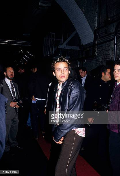 Stephen Dorff and Guy Oseary at Academy Awards of Fashion at Tunnel Club New York April 7 1995