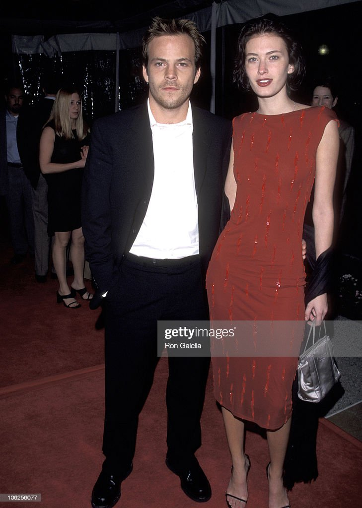 Stephen Dorff and Rhea Durham during Screening of HBO's Earthly Possessions March 14 1999 at Paramount Theater in Hollywood California United States