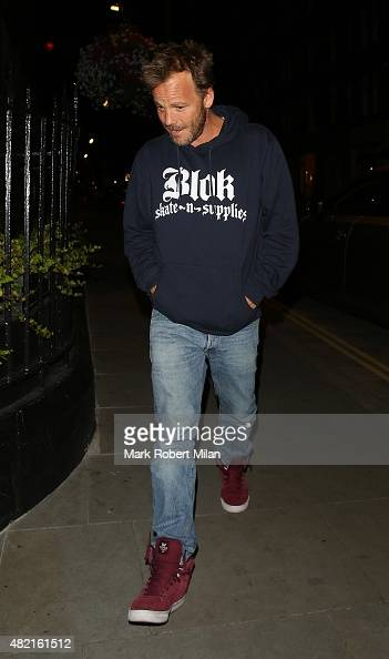 Stephen Dorff at the Chiltern Firehouse on July 27 2015 in London England