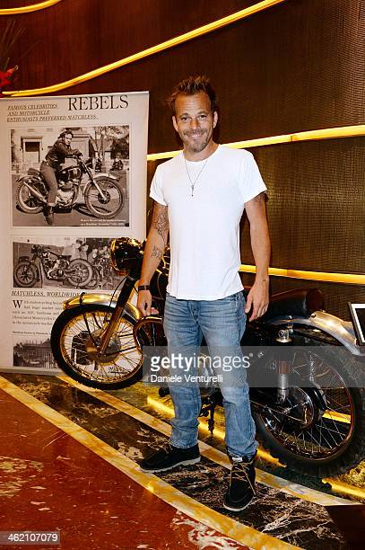 Stephen Dorff attends Matchless Presents 'Marlon Brando 90th Birthday Celebration Collection Preview' as a part of Milan Fashion Week Menswear...