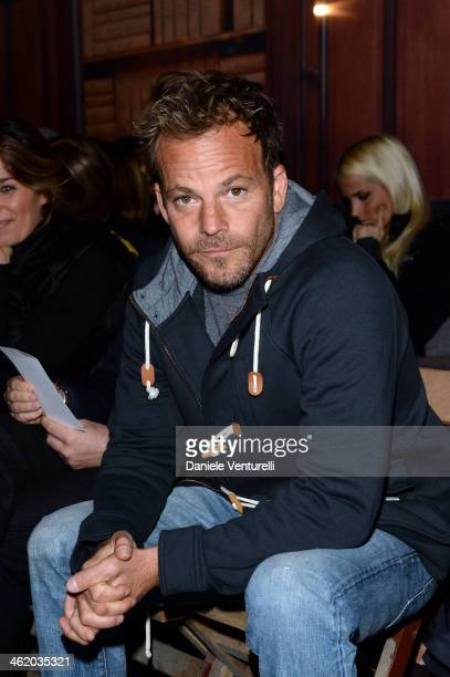 Stephen Dorff attends the Moncler show as a part of Milan Fashion Week Menswear Autumn/Winter 2014 on January 12 2014 in Milan Italy