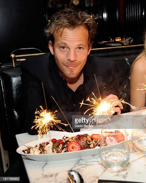 Stephen Dorff attends the Sugar Factory American Brasserie at Paris Las Vegas on March 26 2011 in Las Vegas Nevada