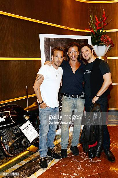 Stephen Dorff Matchless Managing Director Michele Malenotti and Matchless Board Member Manuele Malenotti attend Matchless Presents 'Marlon Brando...