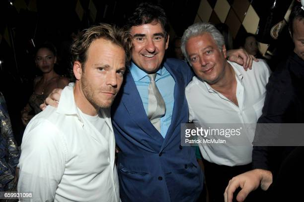 Stephen Dorff Peter Brant and Aby Rosen attend Party at WALL Hosted by VITO SCHNABEL STAVROS NIARCHOS ALEX DELLAL at WALL at the W SOUTH BEACH on...