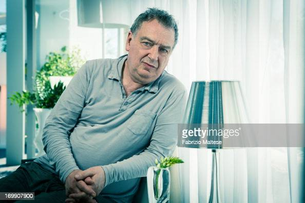 Stephen Frears is photographed for Self Assignment on May 20 2013 in Cannes France