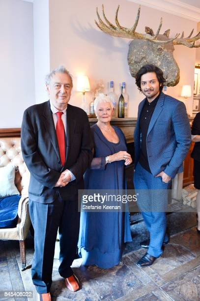 Stephen Frears Judi Dench and Ali Fazal at Focus Features' VICTORIA ABDUL premiere party hosted by GREY GOOSE Vodka and Soho House on September 10...