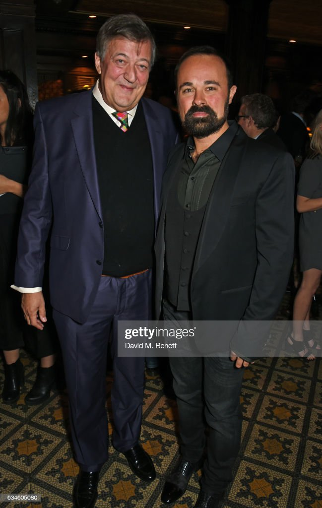 stephen-fry-and-evgeny-lebedev-attend-a-dinner-cohosted-by-harvey-picture-id634605080