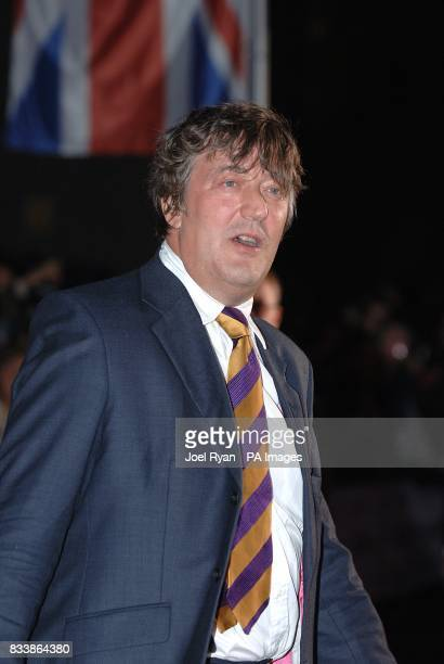 Stephen Fry arrives for the Pride of Britain Awards 2007 The London Studios Upper Ground London SE1