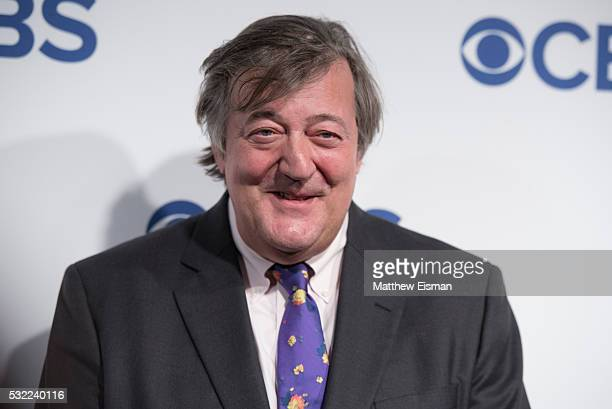 Stephen Fry attends 2016 CBS Upfront at The Plaza on May 18 2016 in New York City