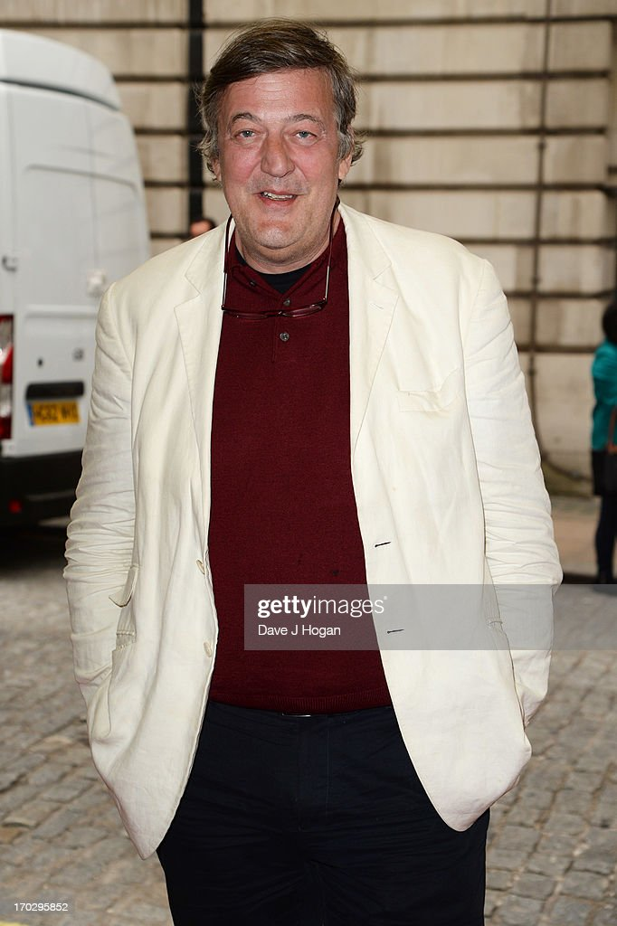 <a gi-track='captionPersonalityLinkClicked' href=/galleries/search?phrase=Stephen+Fry&family=editorial&specificpeople=210809 ng-click='$event.stopPropagation()'>Stephen Fry</a> attends a gala screening of 'Summer In February' at The Curzon Mayfair on June 10, 2013 in London, England.