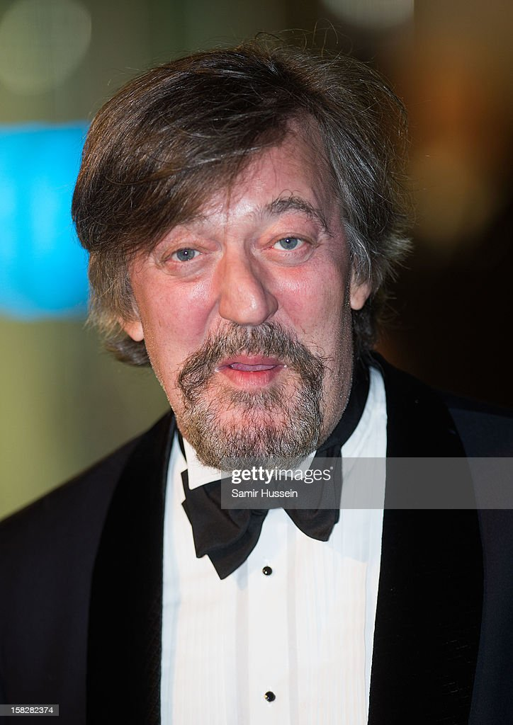 <a gi-track='captionPersonalityLinkClicked' href=/galleries/search?phrase=Stephen+Fry&family=editorial&specificpeople=210809 ng-click='$event.stopPropagation()'>Stephen Fry</a> attends a royal film performance of 'The Hobbit: An Unexpected Journey' at The Empire Leicester Square on December 12, 2012 in London, England.