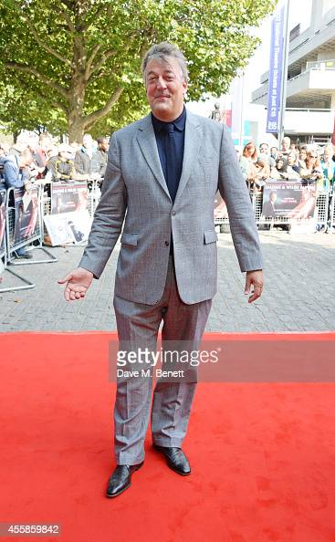 Stephen Fry attends a VIP screening of 'Salome and Wilde Salome' at the BFI Southbank on September 21 2014 in London England
