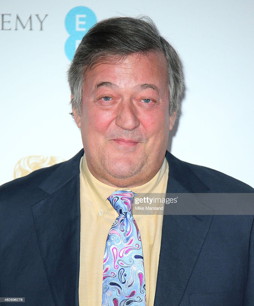 <a gi-track='captionPersonalityLinkClicked' href=/galleries/search?phrase=Stephen+Fry&family=editorial&specificpeople=210809 ng-click='$event.stopPropagation()'>Stephen Fry</a> attends the EE British Academy Awards nominees party at Kensington Palace on February 7, 2015 in London, England.