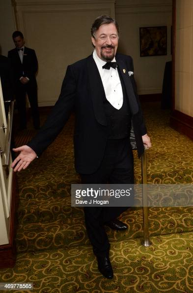 Stephen Fry attends the EE British Academy Film Awards 2014 after party at The Grosvenor House Hotel on February 16 2014 in London England