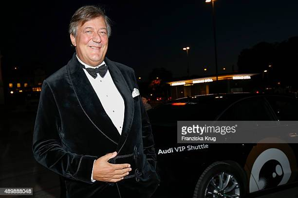 Stephen Fry attends the opening ceremony of the Zurich Film Festival on September 24 2015 in Zurich Switzerland The 11th Zurich Film Festival will...