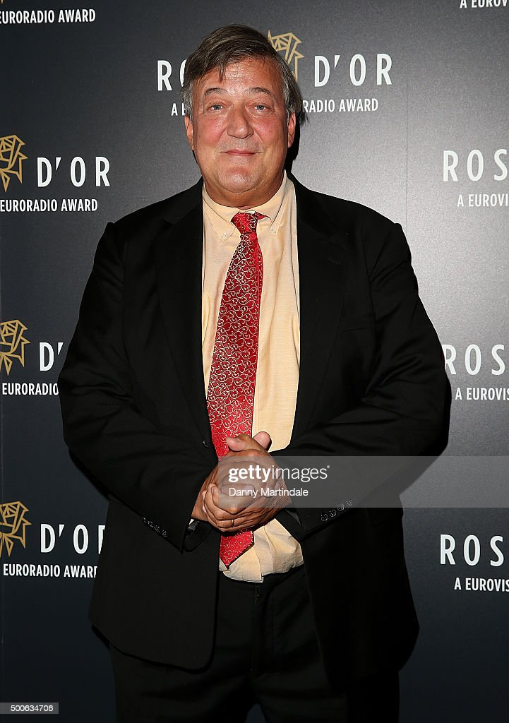 <a gi-track='captionPersonalityLinkClicked' href=/galleries/search?phrase=Stephen+Fry&family=editorial&specificpeople=210809 ng-click='$event.stopPropagation()'>Stephen Fry</a> attends the Rose d'Or Awards at British Museum on December 9, 2015 in London, England.