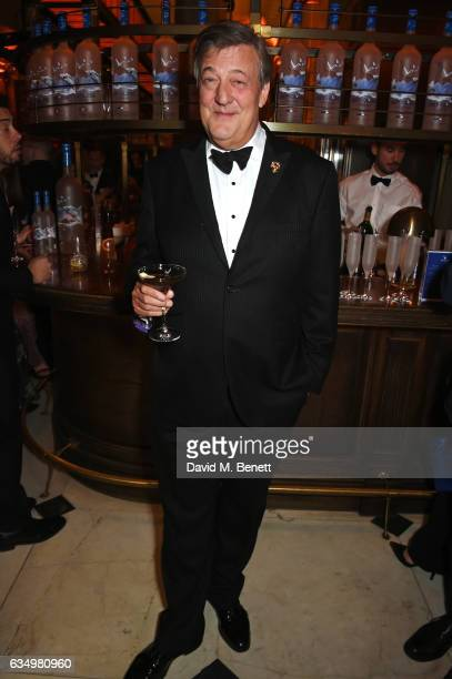 Stephen Fry attends The Weinstein Company Entertainment Film Distributors Studiocanal 2017 BAFTA After Party in partnership with Ben Sherman Kat...