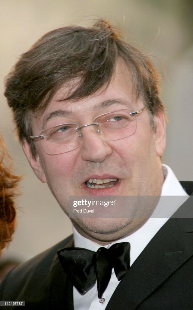 Stephen Fry dur...