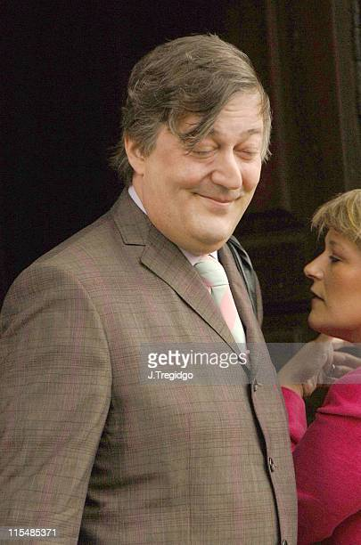 Stephen Fry during Sir John Mills Memorial Service at St Martin in the Fields in London Great Britain