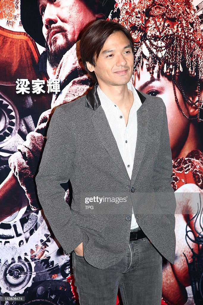 Stephen Fung attends press conference of Taichi 0 on September 26, 2012 in Hong Kong, China.