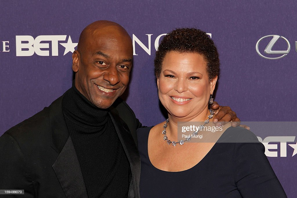 Stephen G. Hill and Debra Lee attends BET Honors 2013: Red Carpet Presented By Pantene at Warner Theatre on January 12, 2013 in Washington, DC.