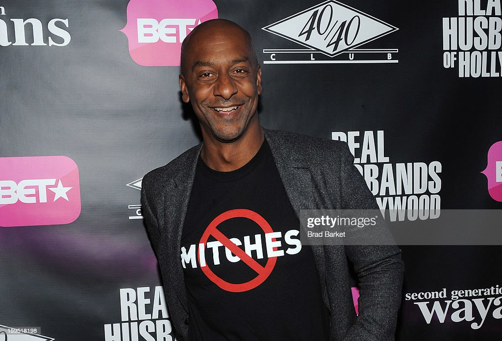 Stephen G. Hill attends BET Networks New York Premiere Of 'Real Husbands of Hollywood' And 'Second Generation Wayans' - After Party at 40 / 40 Club on January 14, 2013 in New York City.