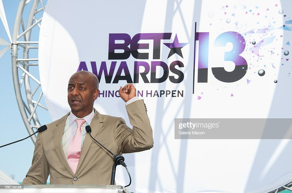 Stephen G. Hill attends the 2013 BET Awards Press Conference at Icon Ultra Lounge on May 14, 2013 in Los Angeles, California.