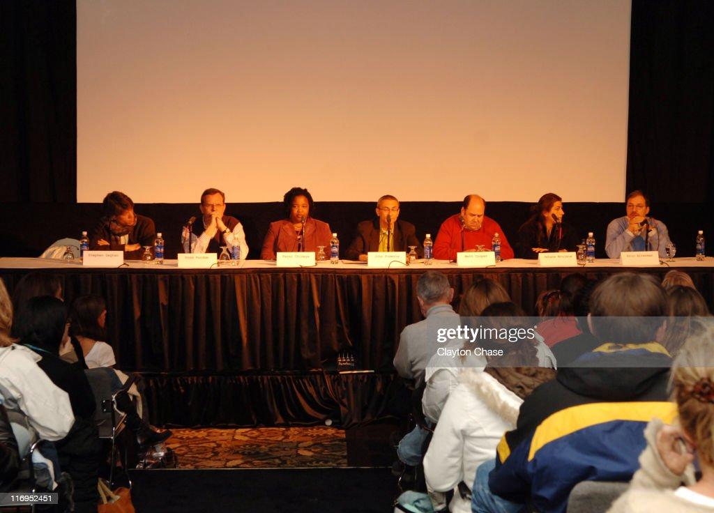"""2006 Sundance Film Festival - """"Where is the Media?"""" Panel"""