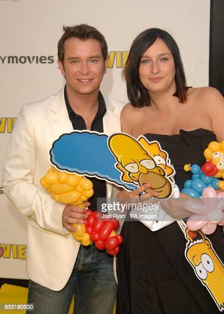Stephen Gately arrives for the UK Premiere of The Simpsons Movie at the Vue Cinema The O2 Peninsula Square London