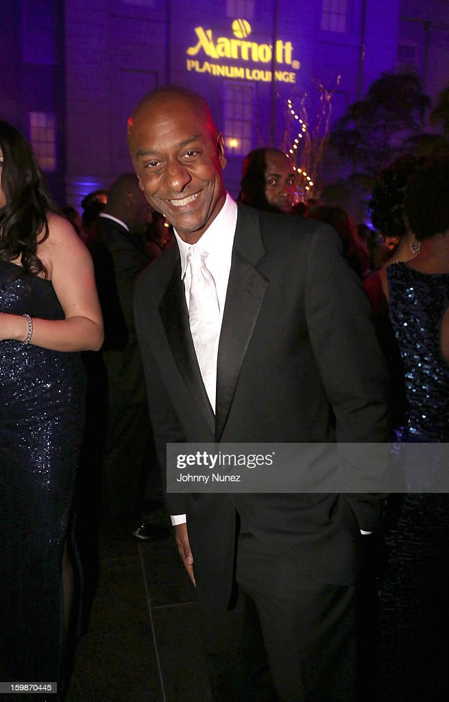 Stephen Hill attends the 2013 BET Networks Inaugural Gala at Smithsonian National Museum Of American History on January 21, 2013 in Washington, United States.