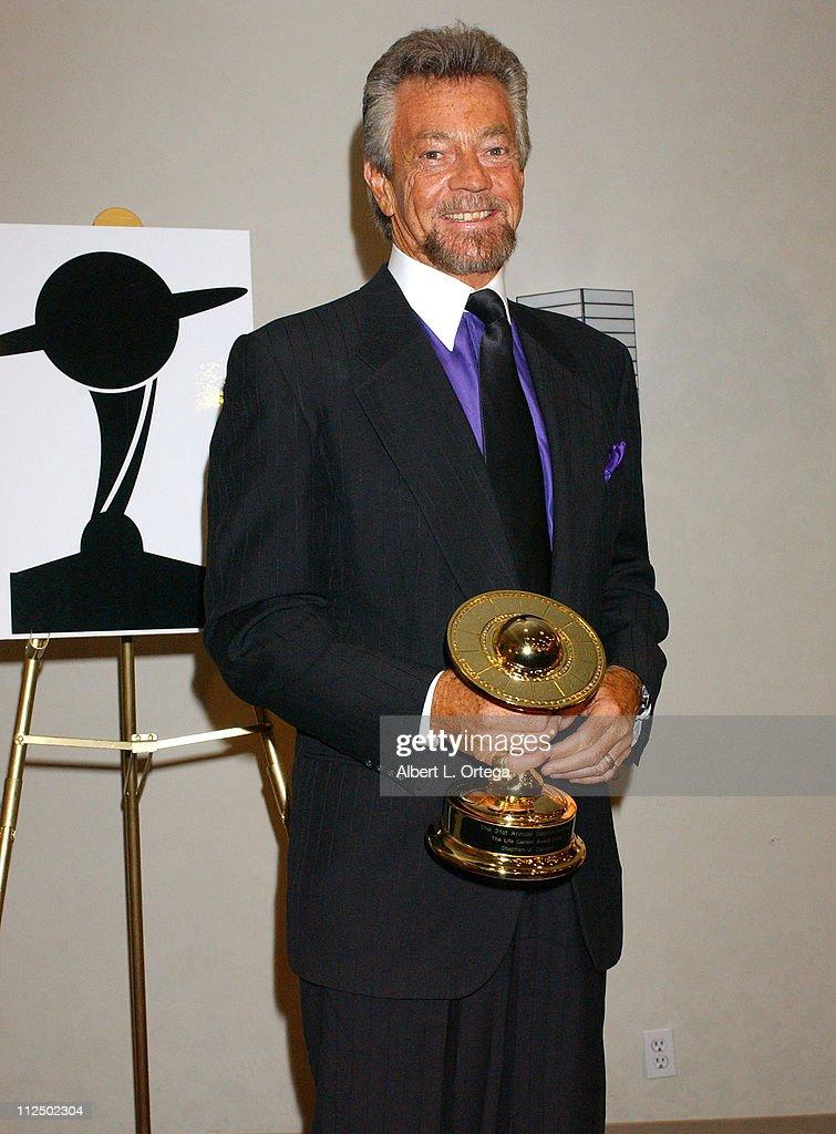 Stephen J. Cannell, winner of the Life Career Award