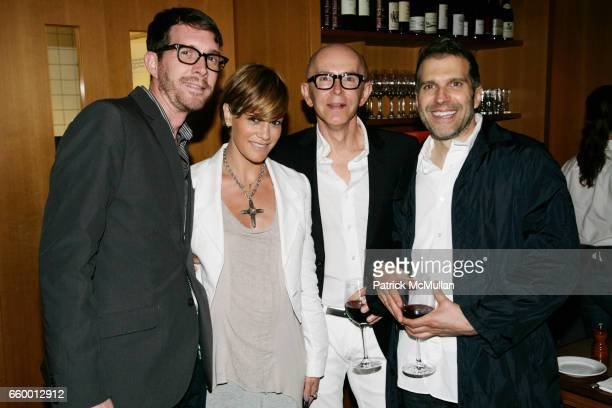 Stephen Keefe Jenne Lombardo James Gager and Richard Ferretti attend MAC JAMES GAGER Celebrate MILES ALDRIDGE 'Pictures for Photographs' Opening...