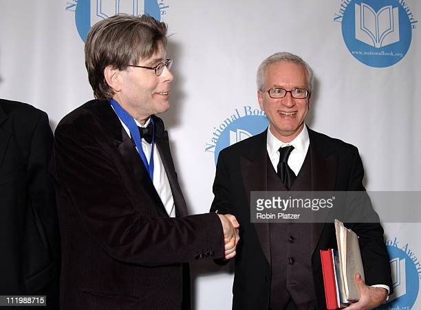 Stephen King and Neil Baldwin during The 54th Annual National Book Awards Ceremony and Benefit Dinner at The Marriott Marquis Hotel in New York City...