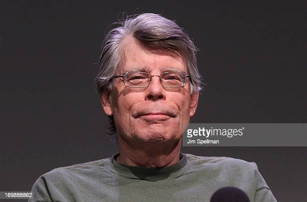 Stephen King attends Meet the Creators at Apple Store Soho on June 3 2013 in New York City