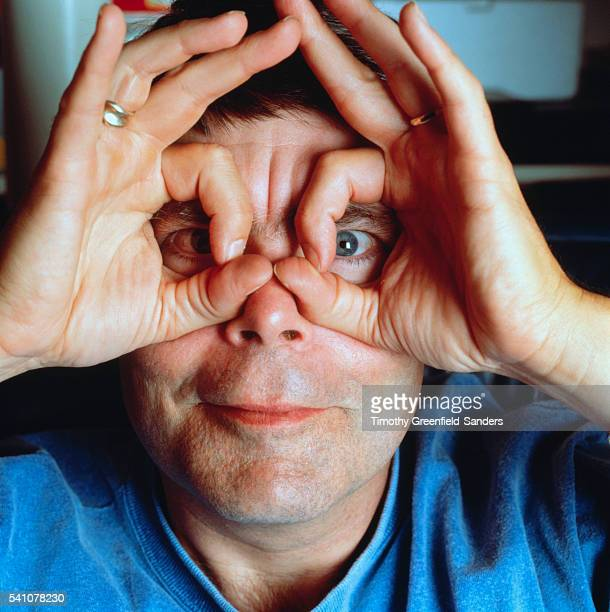 Stephen King Making a Face