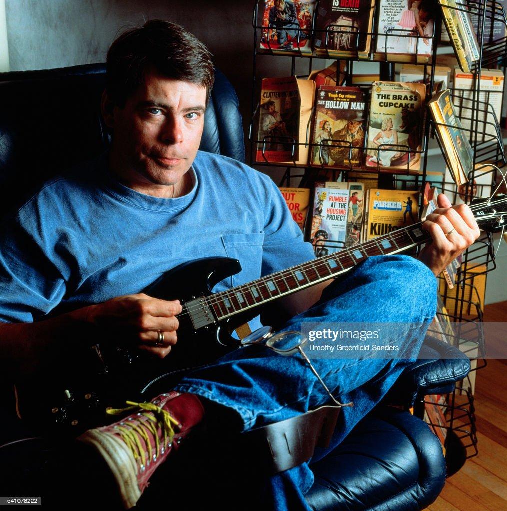 Stephen King Playing Guitar
