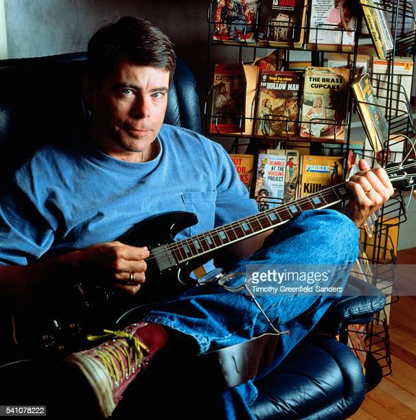 Stephen King Playing Guitar