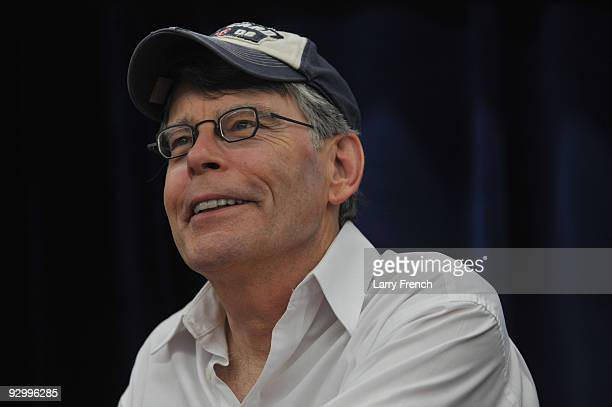 Stephen King promotes 'Under The Dome' at the North Point Boulevard Walmart on November 11 2009 in Dundalk Maryland
