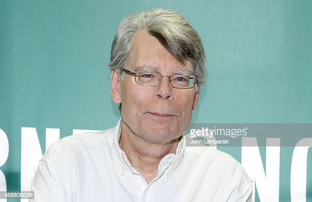 Stephen King Signs Copies Of His Book 'Revival' at Barnes Noble Union Square on November 11 2014 in New York City