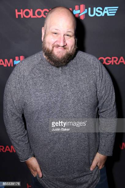 Stephen Kramer Glickman attends Hologram USA's Gala Preview at Hologram USA Theater on September 28 2017 in Los Angeles California
