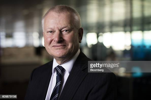 Stephen Lansdown billionaire and cofounder of Hargreaves Lansdown Plc poses for a photograph following a Bloomberg Television interview in London UK...