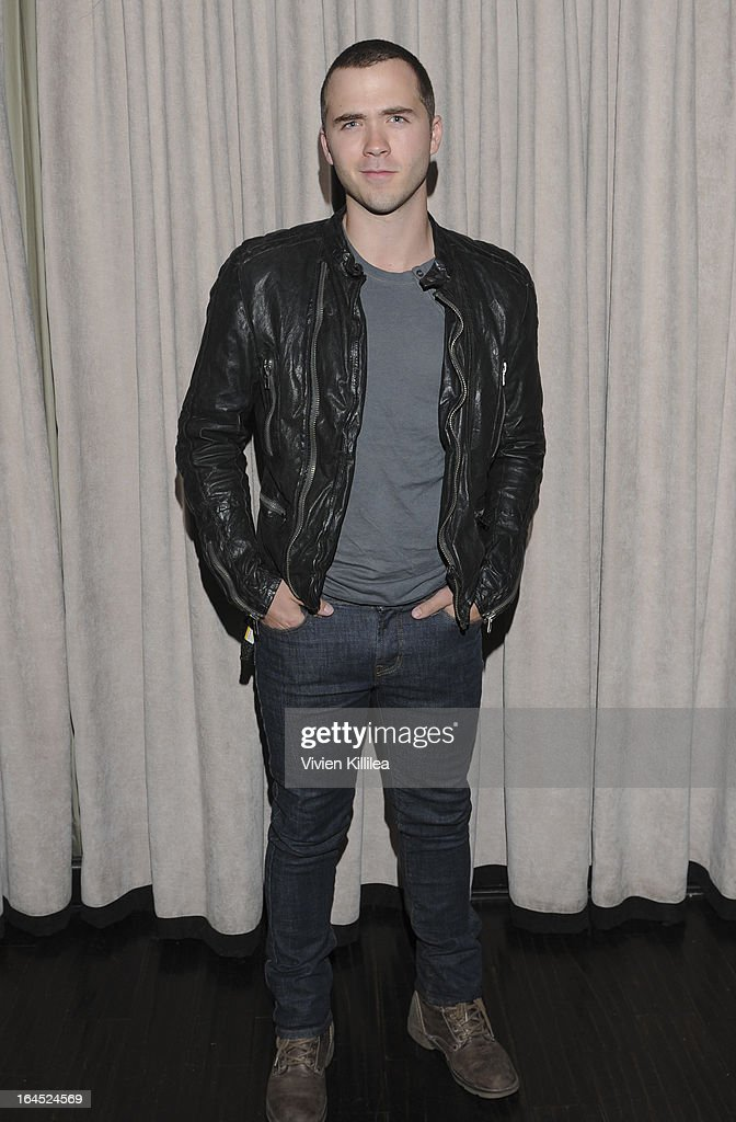 Stephen Lunsford attends Rock Way Fundraiser at Beso on March 23, 2013 in Hollywood, California.