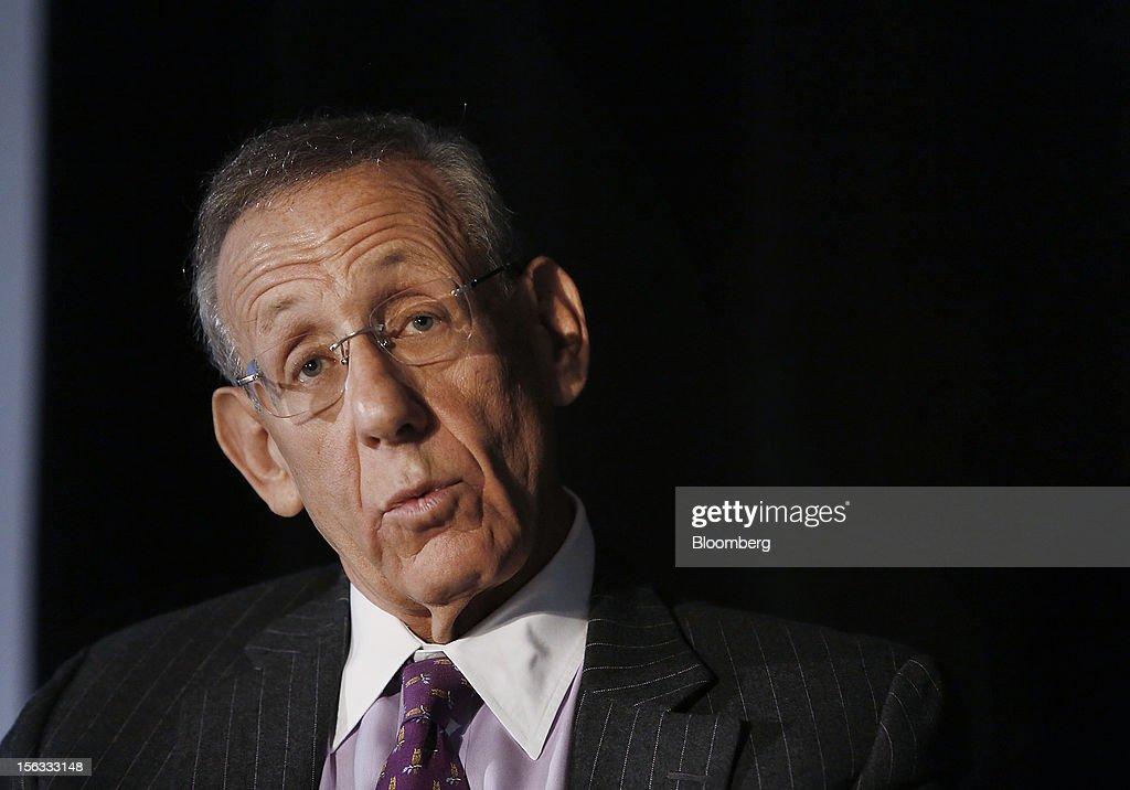 Stephen M. Ross, chairman and founder of Related Cos., speaks during a panel discussion at the Bloomberg Commercial Real Estate Conference in New York, U.S., on Tuesday, Nov. 13, 2012. The third Bloomberg Commercial Real Estate Conference will gather the most influential leaders in real estate to map out strategies for the coming year as well as explore the economic and political factors that have helped to drive a recovery. Photographer: Victor J. Blue/Bloomberg via Getty Images