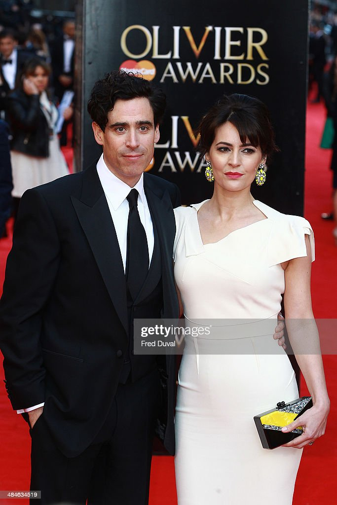 <a gi-track='captionPersonalityLinkClicked' href=/galleries/search?phrase=Stephen+Mangan&family=editorial&specificpeople=227894 ng-click='$event.stopPropagation()'>Stephen Mangan</a> and Louise Delamere attend The Laurence Olivier Awards with MasterCard at The Royal Opera House on April 13, 2014 in London, England.