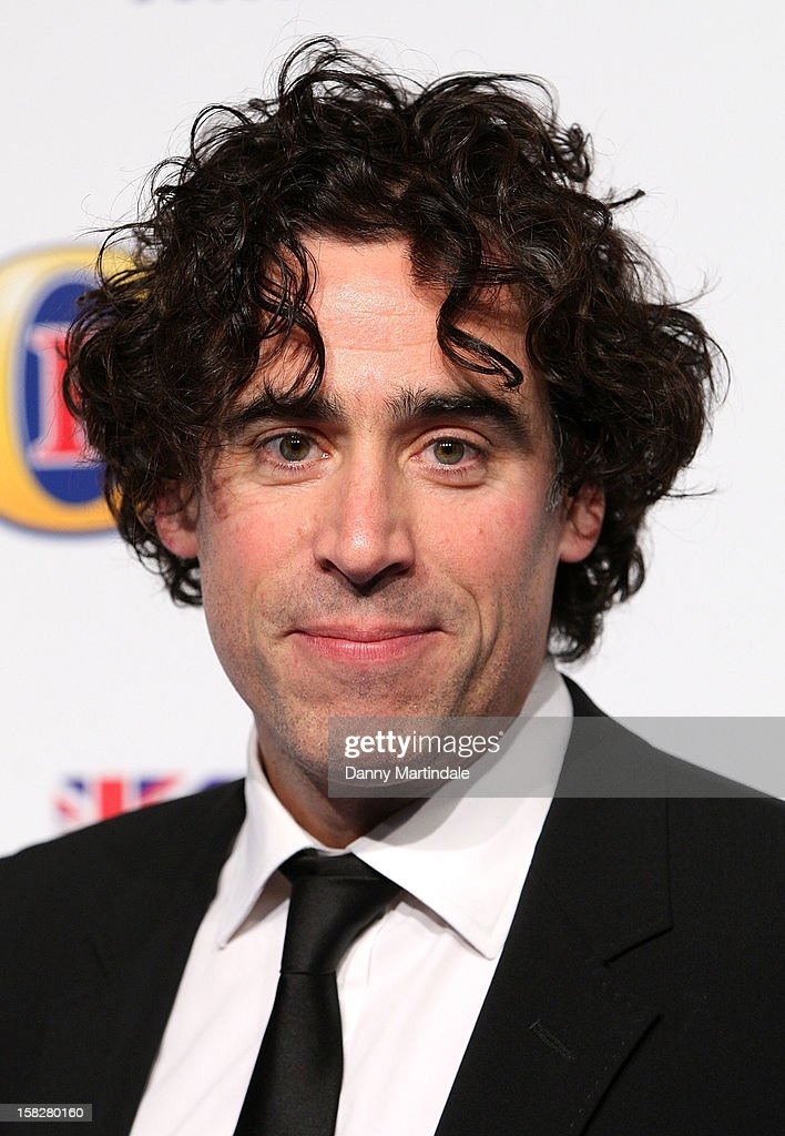 <a gi-track='captionPersonalityLinkClicked' href=/galleries/search?phrase=Stephen+Mangan&family=editorial&specificpeople=227894 ng-click='$event.stopPropagation()'>Stephen Mangan</a> attends the British Comedy Awards at Fountain Studios on December 12, 2012 in London, England.