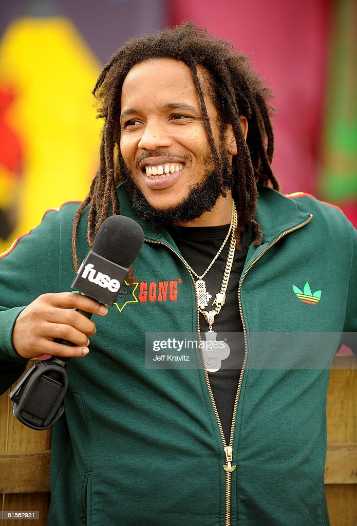 Stephen Marley backstage during Bonnaroo 2008 on June 13, 2008 in Manchester, Tennessee.