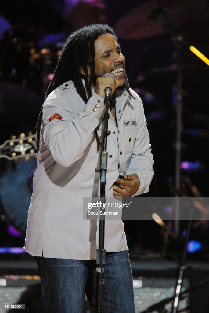 Stephen Marley during The Library of Congress Gershwin Prize for Popular Song Celebrates Paul Simon at The Warner Theatre in Washington, District of Columbia, United States.