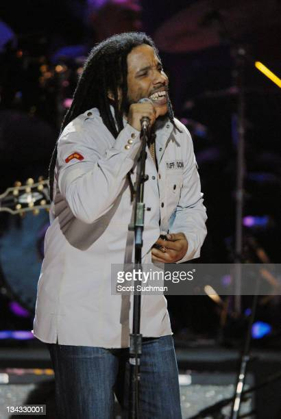 Stephen Marley during The Library of Congress Gershwin Prize for Popular Song Celebrates Paul Simon at The Warner Theatre in Washington District of...