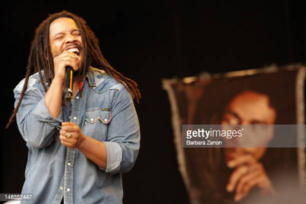 Stephen Marley performs on stage at Arena Santa Giuliana during Umbria Jazz Festival on July 14 2012 in Perugia Italy