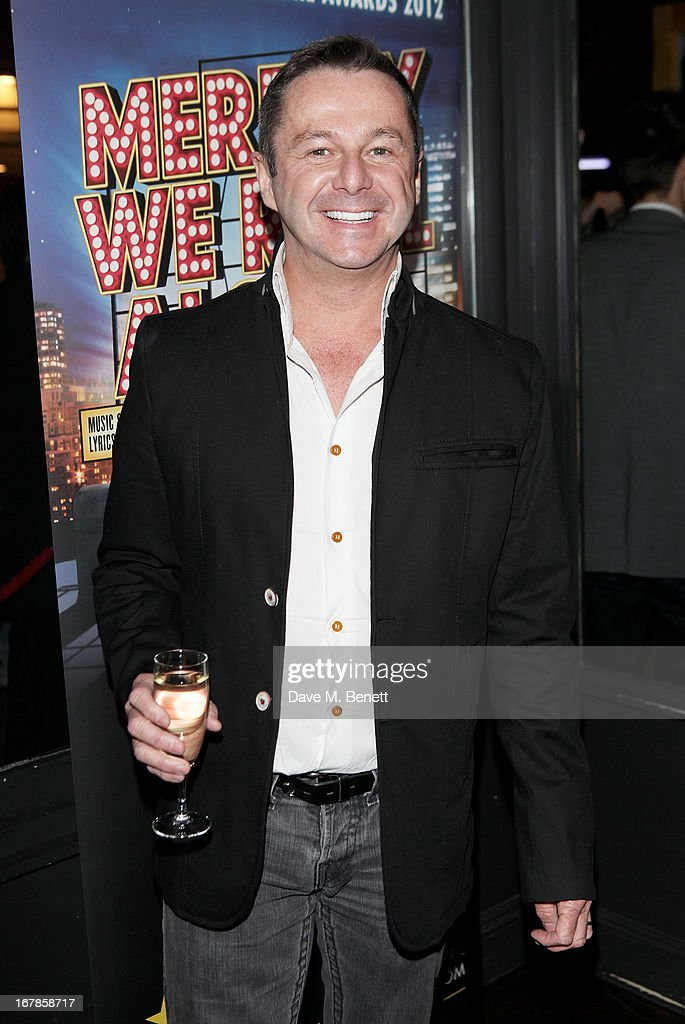 Stephen Mear attends an after party celebrating the press night performance of the Menier Chocolate Factory's 'Merrily We Roll Along', following its transfer to the Harold Pinter Theatre, at Grace Restaurant on May 1, 2013 in London, England.